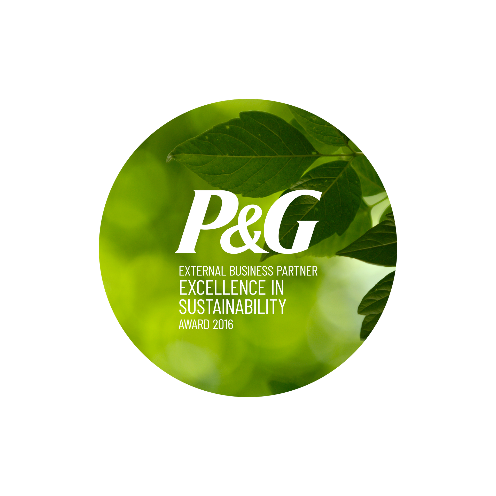 P&G Excellence in Sustainability Award