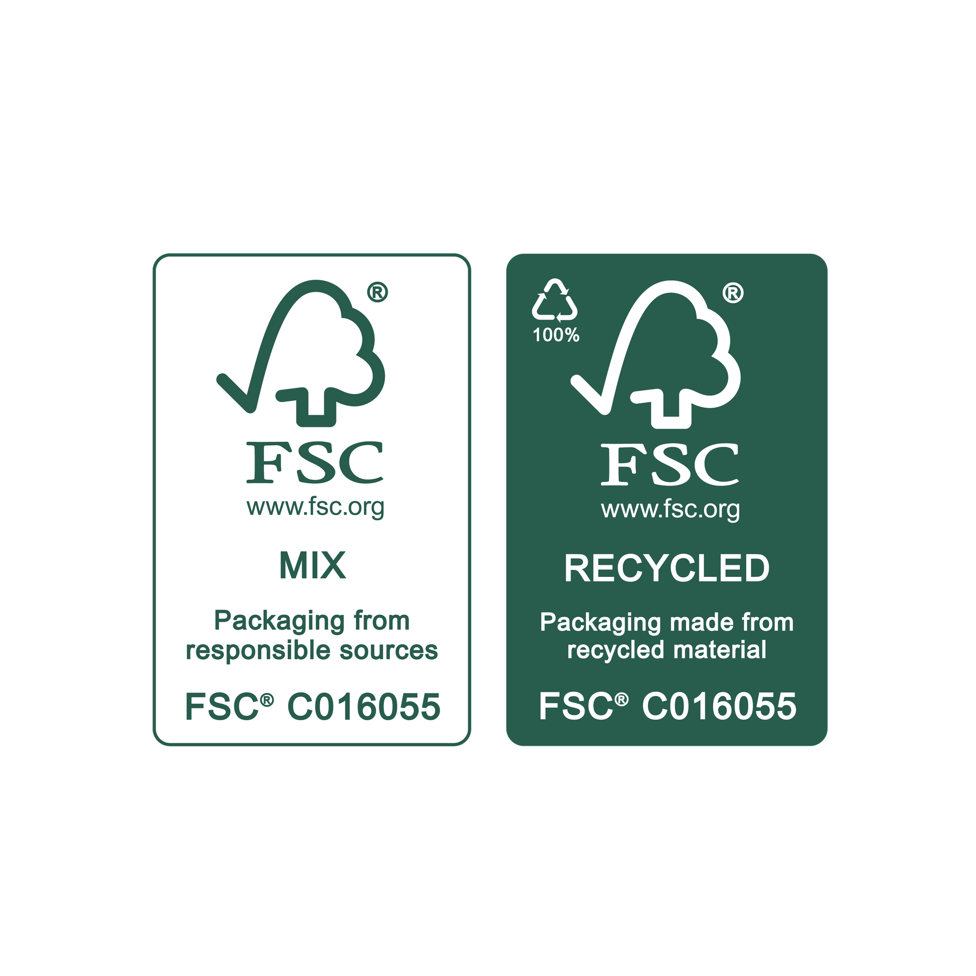 FSC on-product label