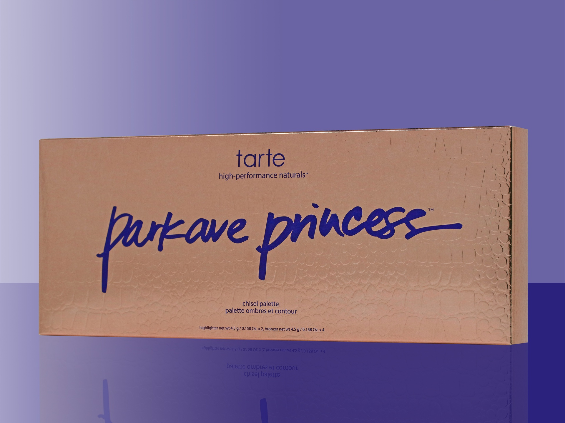 Tarte Park Ave Princess Chisel Palette packaging