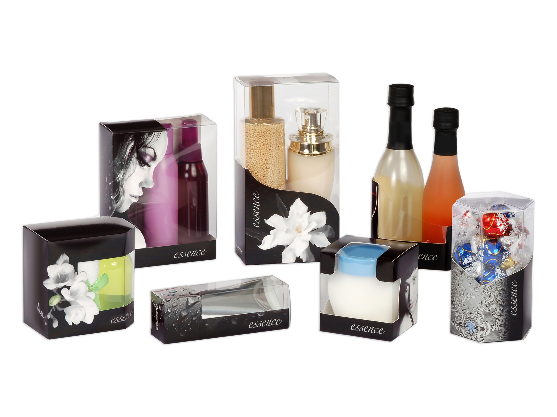 Diamondessence™ Combination Packaging Styles