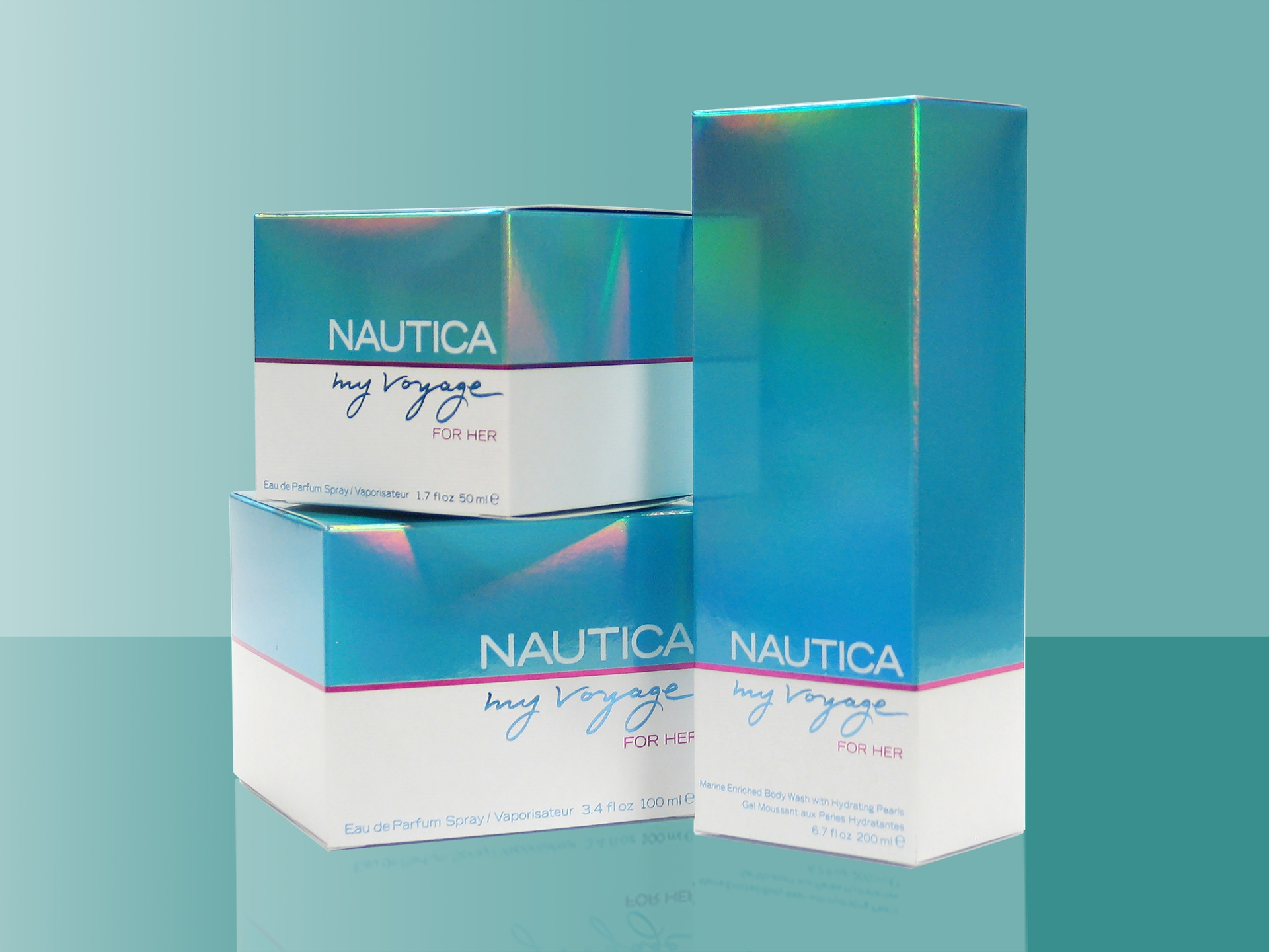 Nautica My Voyage For Her packaging